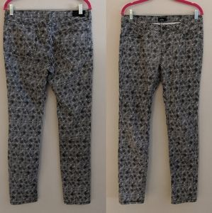 Kate Spade Saturday dotted skinny jeans